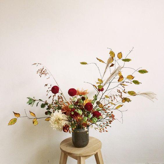 #bloemen #boeket #flowers #bruiloft #bloemenvanhaas #wediingflowers #autumn #herfst