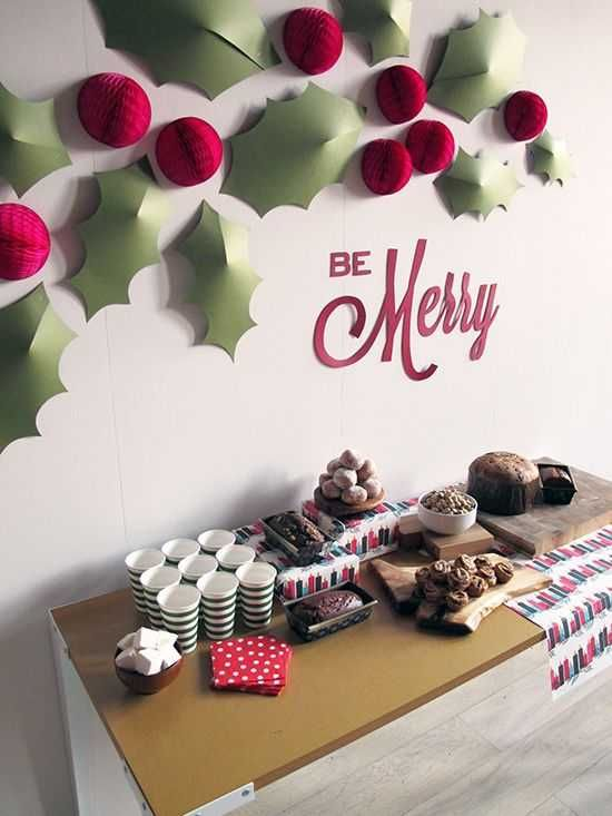 Image result for diy christmas party decor