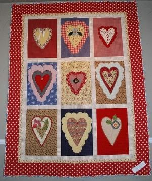 Hearts Quilt by isrc