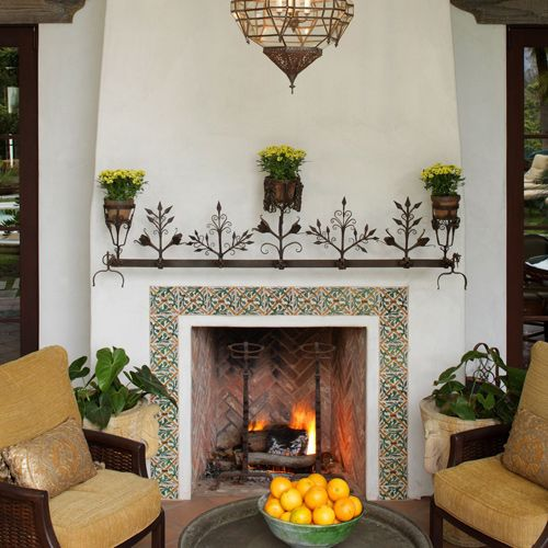 Nice Fireplaces: Nice, Fireplaces And Tile On Pinterest