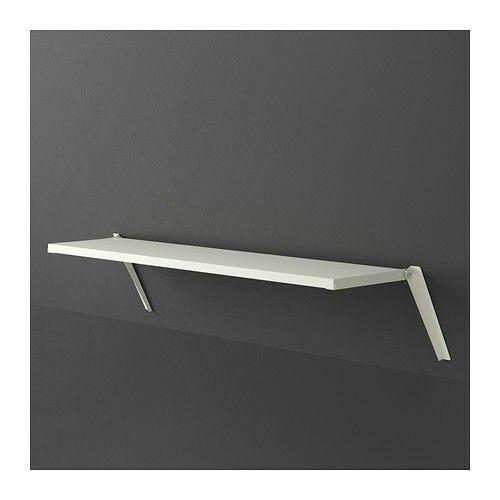 Ikea ekby sloping wall bracket g stev relse pinterest for Slanted shelves ikea
