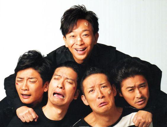 TOKIO城島がメンバーを抱き寄せる壁紙