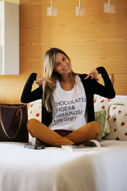 Look – Chocolate, shoes, diamonds