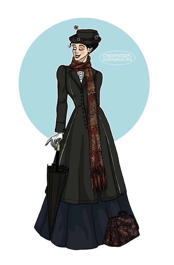Mary Poppins by LaTaupinette on deviantART