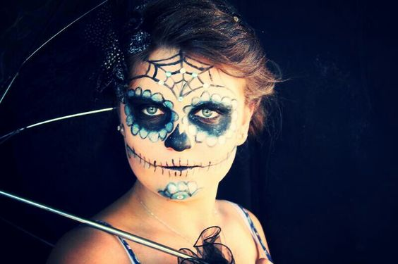 Love this pic I took of jy friend when we did the sugarskull makeup