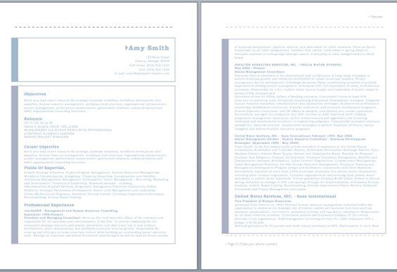 HR Consultant Resume resume Pinterest Sample resume - resume consultant