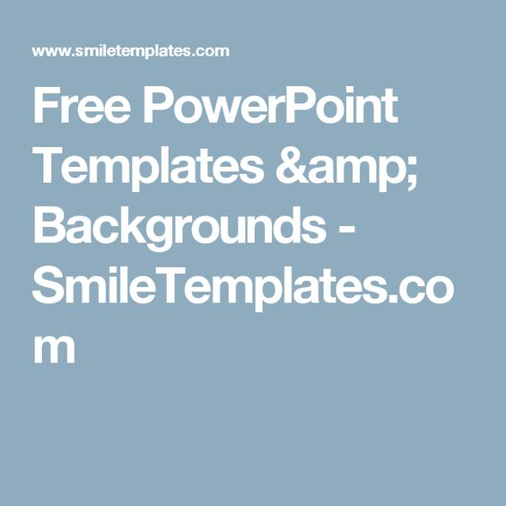 Free PowerPoint Templates \ Backgrounds - SmileTemplates - nature powerpoint template