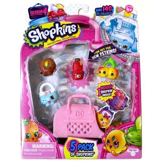 Shopkins Season 4 Toy Figure (5 Pack) https://www.amazon.com/Shopkins-Season-Toy-Figure-Pack/dp/B01739Y1KU/ref=as_li_ss_tl?s=toys-and-games&ie=UTF8&qid=1467785214&sr=1-5&keywords=Shopkins+Toys&linkCode=ll1&tag=herbcoloclea-20&linkId=8f9ce485202cb21173731fdab18b86a5