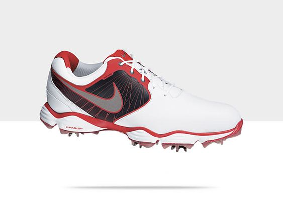 Saw Rory wearing these (in black) today.  Had to stop by PGA Tour Superstore to try them on.  Amazing!  10.5 wide for me.  Found them on eBay for $123.  Nike Lunar Control Men's Golf Shoe