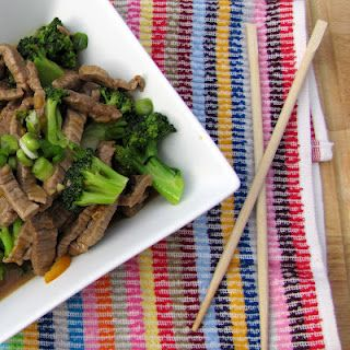 Rumbly In My Tumbly: Lighter Orange Broccoli Beef - Dinner!