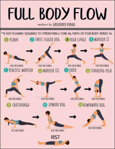 20 Minutiges Ganzkorper Yoga Training Fur Anfanger Kostenloses Pdf Anfanger Ganzkorp Full Body Yoga Workout Workout For Beginners Beginner Yoga Workout