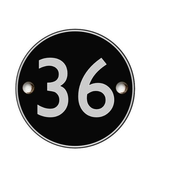 Was £18.00 > Now £9.00.  Save 50% off Modern contemporary acrylic black round house number #5StarDeal, #AddressNumbersPlaques, #GardenOutdoors, #Hardware, #HouseNumbers, #LowestEver, #Under10