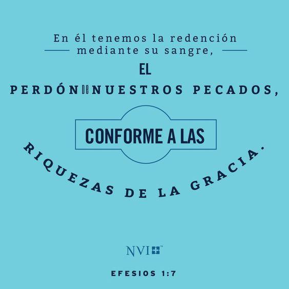 Nvi Verse Of The Day Efesios 1 7 Efesios Frases De La Biblia Adoracion A Dios