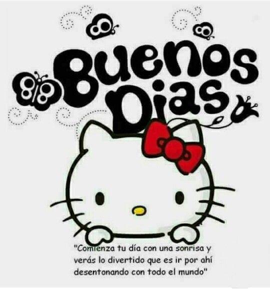 Buenos Dias Hello Kitty Imagenes Tatuajes De Hello Kitty Arte De Hello Kitty