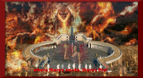 Saint Peters Square - Vatican;  http://mysteryoftheiniquity.com/2014/08/05/the-lucifer-project/