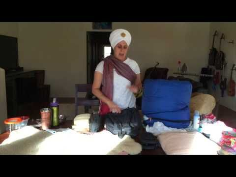 Jaap Kaur shares some tips on packing for an awesome Winter Solstice Sadhana experience