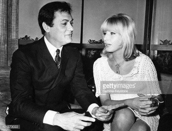 Tony Curtis and Monica Vitti, mid -60s