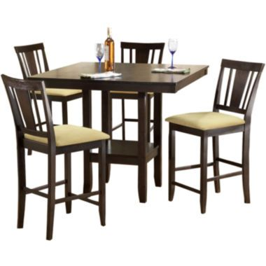 Arcadia 5-pc. Dining Set with Counter Stools  found at @JCPenney