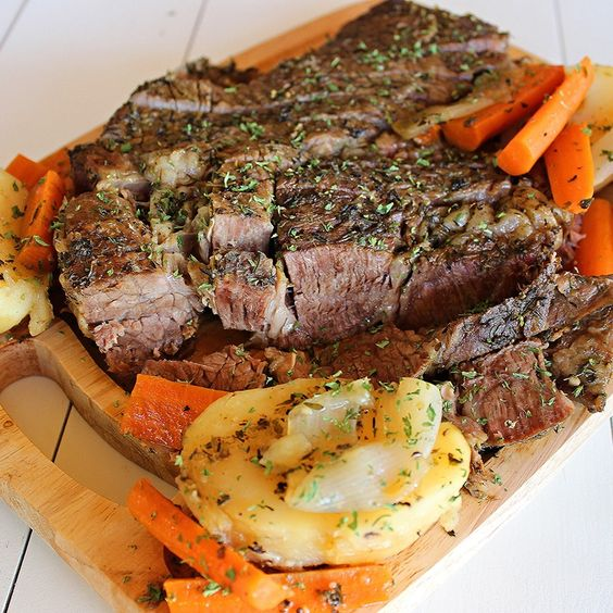 , oregano, thyme and Grill Mates® Montreal Steak seasoned pot roast ...