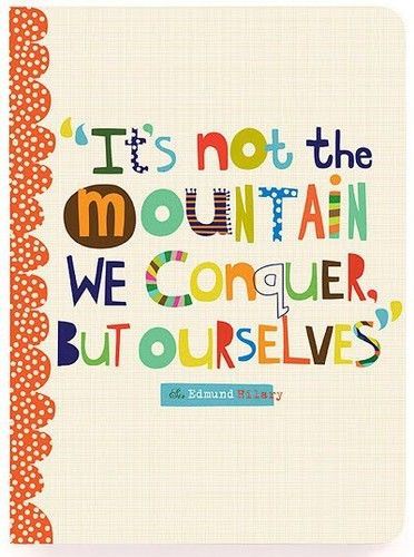Let's conquer.