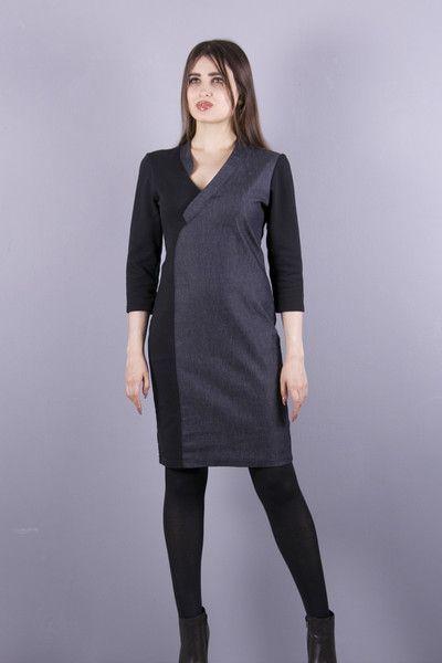 Kleider - NARA® Elegantes Schlankeffekt Kleid - ein Designerstück von Berlinerfashion bei DaWanda