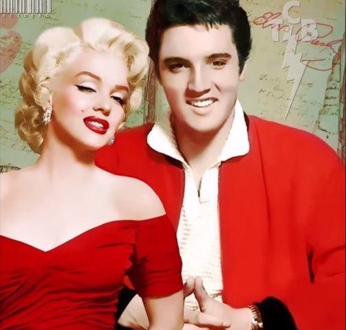 Marilyn Monroe and Elvis