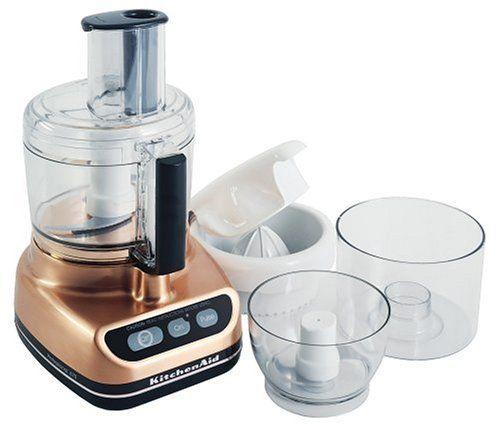 Copper Colored Food Processor