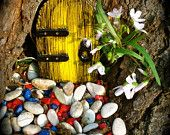 A fairy door for your enchanted garden ;)