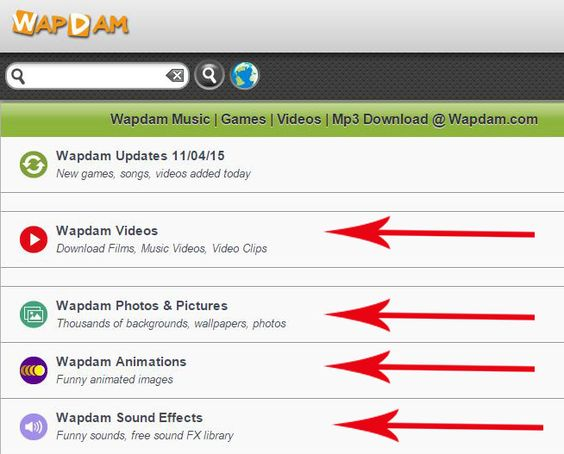 Wapdam – Video, Music, Games | www.wapdam.com