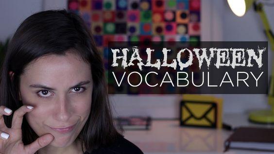 Cintia disse - Vocabulário de Halloween!