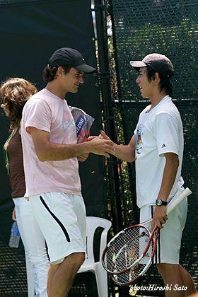 Federer & Kei