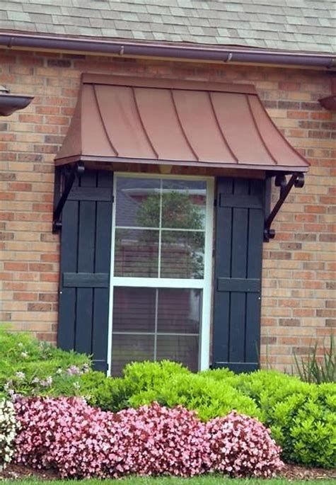 Many Enjoy The Aesthetic Interest An Awning Includes In Their Residence Or Service Yet Just How Do You Know Which O Copper Awning Metal Awning Outdoor Awnings