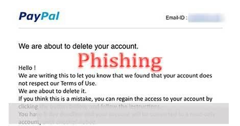 "PayPal ""We Are About to Delete Your Account"" Phishing Scam"