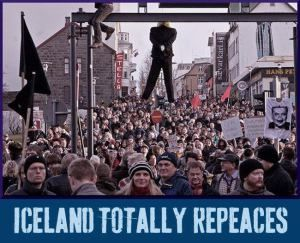 Iceland's Amazing Peaceful Revolution - Still Not in the News  Power to the People!  crowd-repeace-n