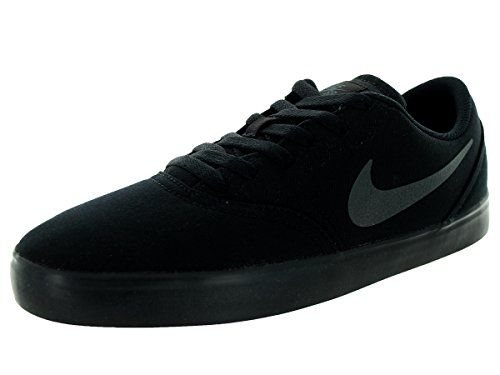 Nike Mens Sb Check Cnvs Blackanthracite Skate Shoe 10 Men Us Want To Know More Click On The Image This Is An Affiliate Link N Nike Skate Shoes Nike Men