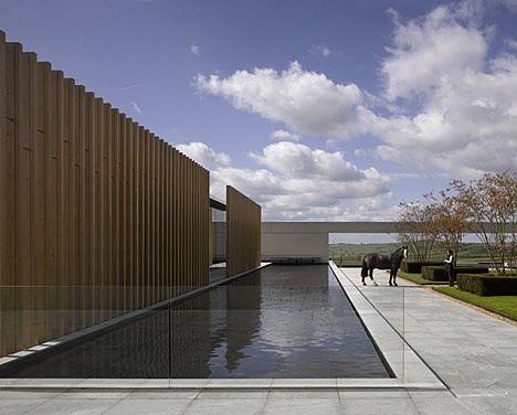 cabbagerose: A Fundação Rothschild por Stephen Marshall Arquitetos via: blueverticalstudio