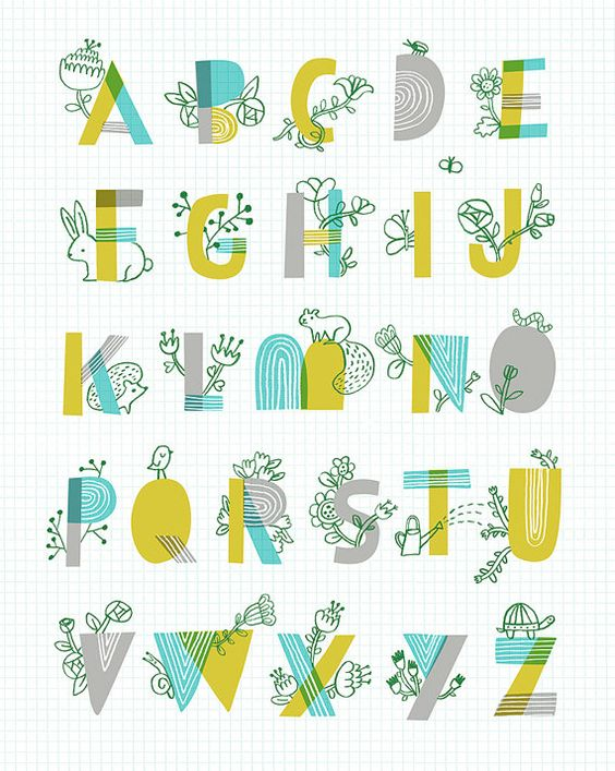 Spring garden alphabet and spring on pinterest for Alphabet garden designs