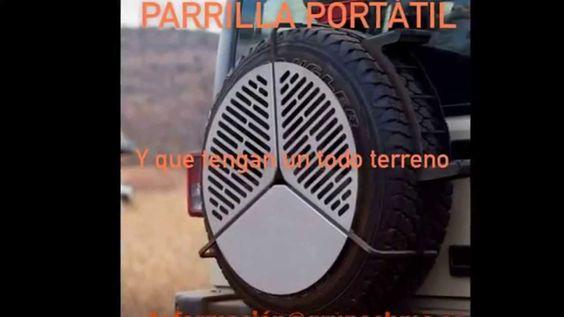 PARRILLA PORTÁTIL