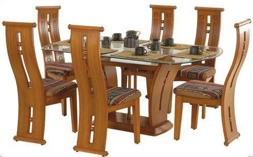 Wood Dining Table Set Dining Table Set White Background 2 Jpg 497