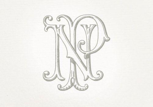 Vintage Wedding Monogram Np Pn Wedding Invitation Digital Etsy Vintage Logo Design Vintage Monogram Wedding Monogram Letters