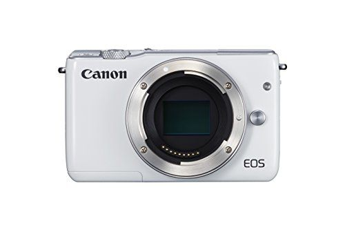Canon EOS M10 Systemkamera Gehäuse (7,5 cm (3 Zoll), WLAN, NFC, 18 Megapixel, 1080p, Full HD) weiß - http://kameras-kaufen.de/canon/weiss-canon-eos-m10-systemkamera-kit-mit-ef-m-15-is-7