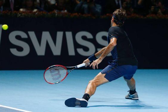 Federer gewinnt Swiss Indoors vs Nadal 6-3 5-7 6-3 1-Nov-2015