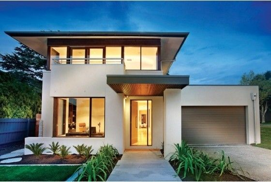 2 Bedroom House Plans Desain Rumah Modern Arsitektur Rumah Rumah Modern