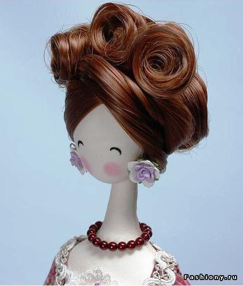 Японские Тряпиенсы- Интерьерная кукла / куклы аниме своими руками