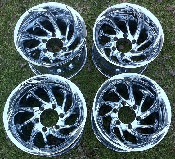 Prime Wheels (Pacer Style USA, Aftermarket Used Chrome