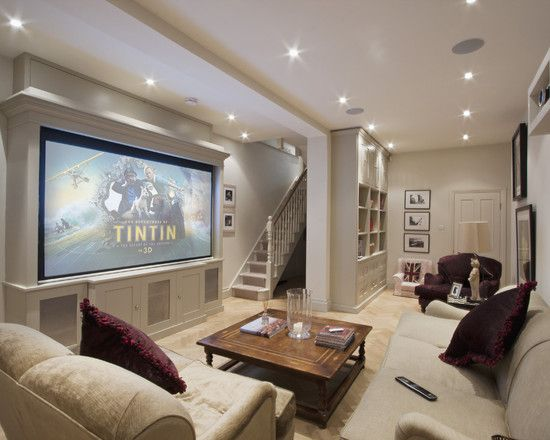 Traditional Media Room Design, Pictures, Remodel, Decor and Ideas - page 10