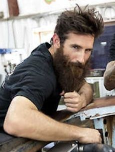 the sexy mechanic aaron kaufman from gas monkey fast 39 n. Black Bedroom Furniture Sets. Home Design Ideas