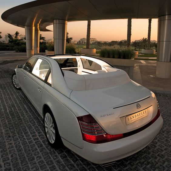 2012 Maybach 62S Landaulet