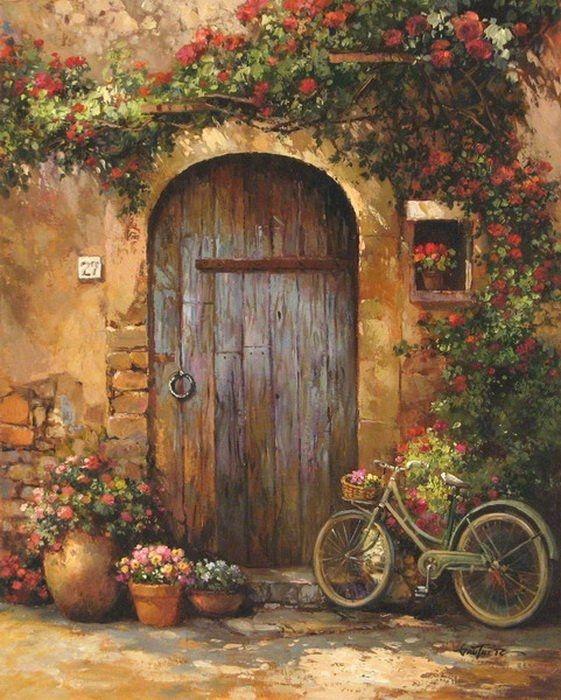 & Paul Guy Gantner | Skilderye | Pinterest | Guy Doors and Paintings pezcame.com