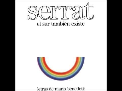 Poema Defensa De La Alegria Mario Benedetti Pistas Principales Joan Manuel Serrat Youtube Serrat